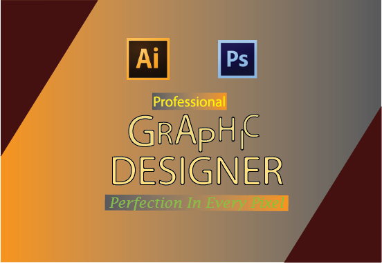 Professional Graphic Designer Can Build Any Type Of Design