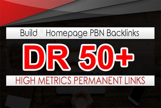 I will provide 3 pbn DR 50+ permanent homepage dofollow backlinks