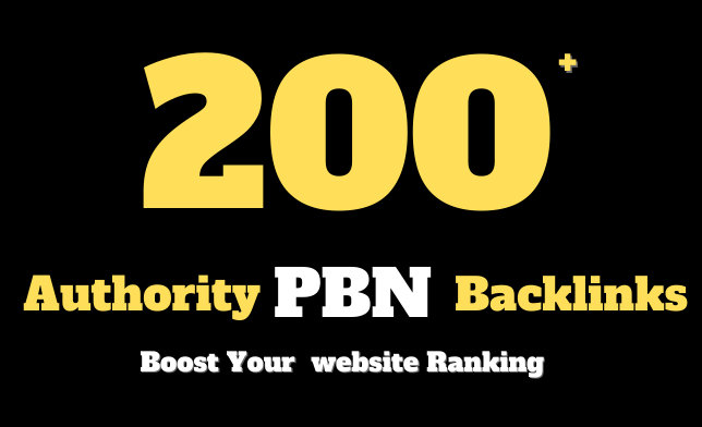 I will make 200 high authority backlinks to boost website ranking