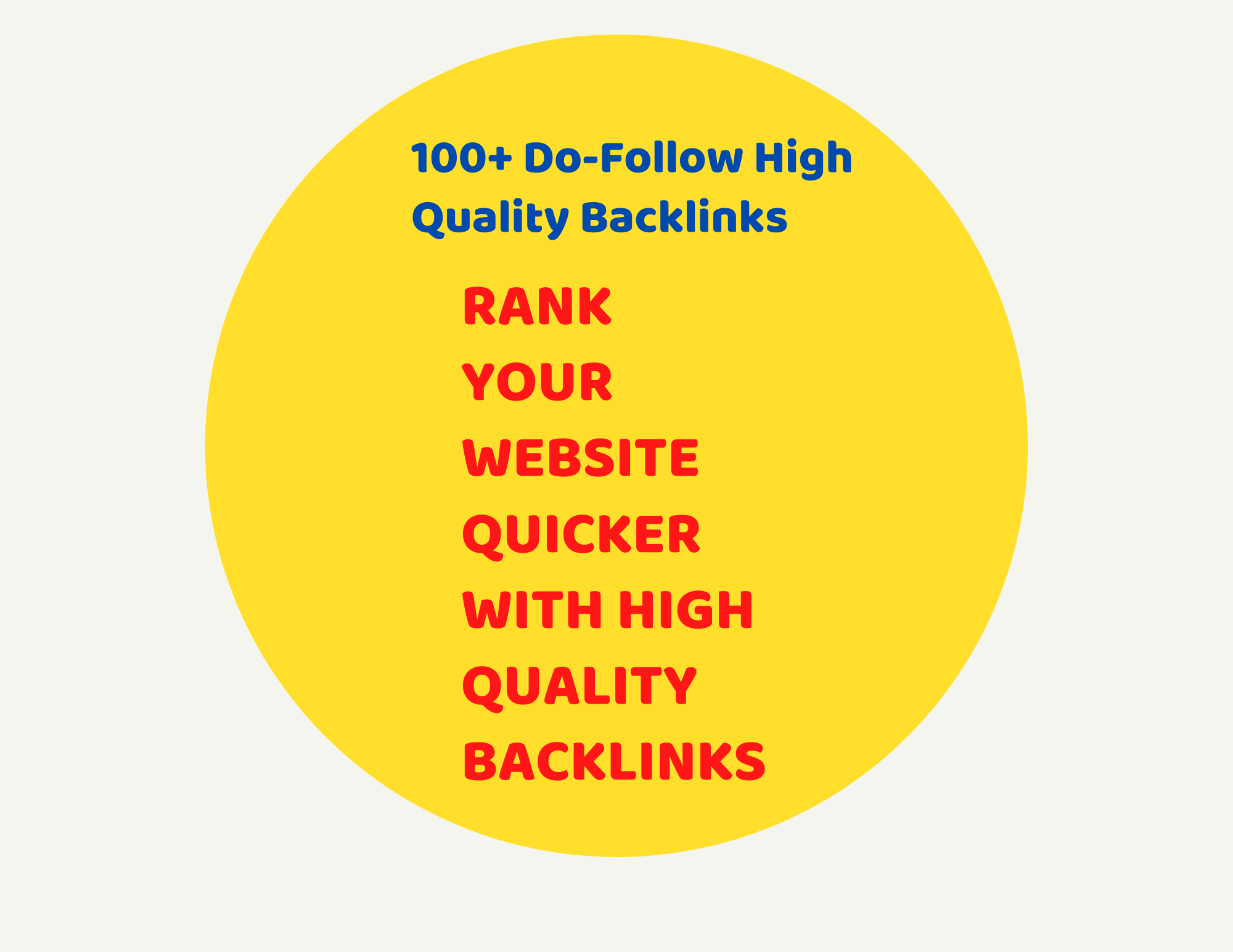 100 Contexual High Quality Backlinks From High DA Sites