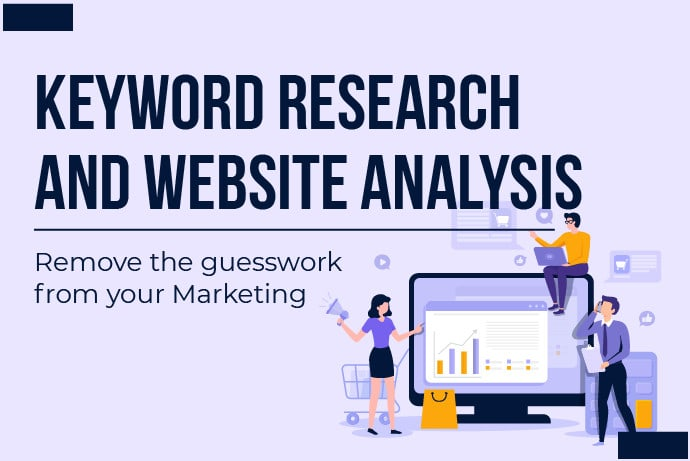 I will do keyword research,  competitor analysis and website audit
