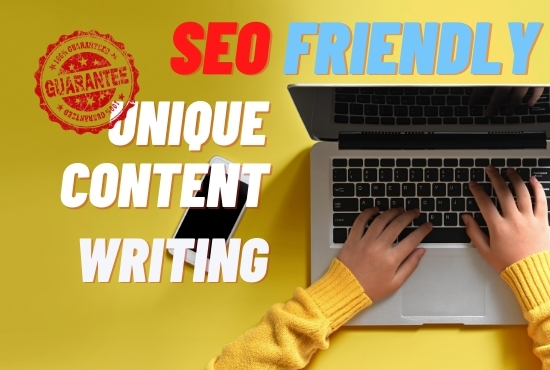 I will write 1200+ words SEO friendly content