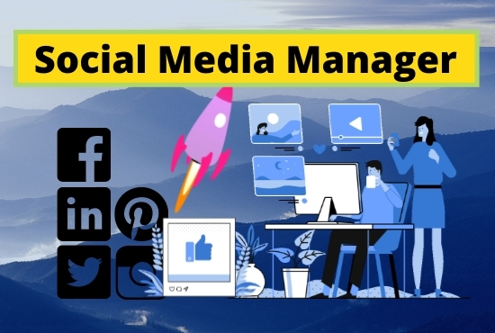 I will be your Professional Social Media Manager for your business.