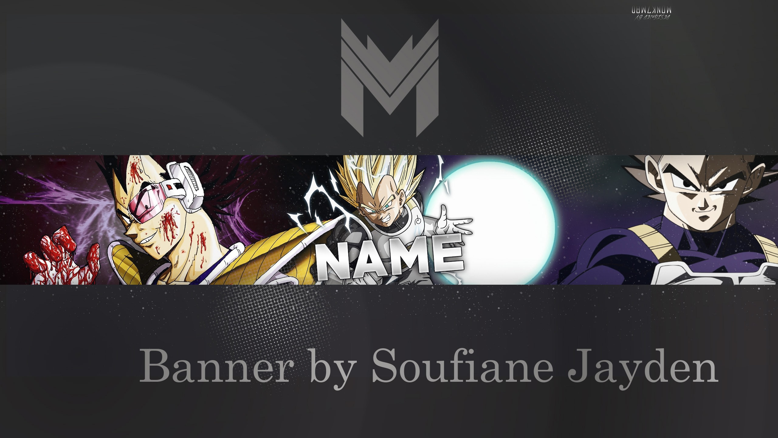 design a banner gaming for You-tube