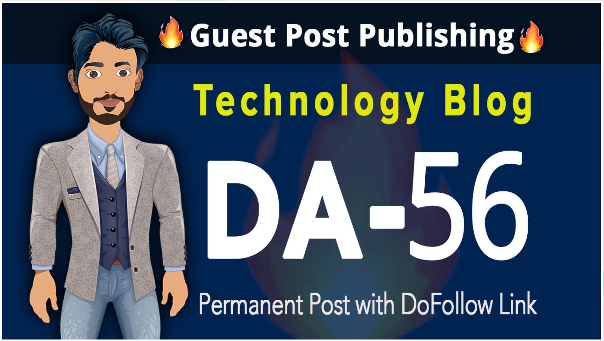 guest post on da 56 technology blog with dofollow link