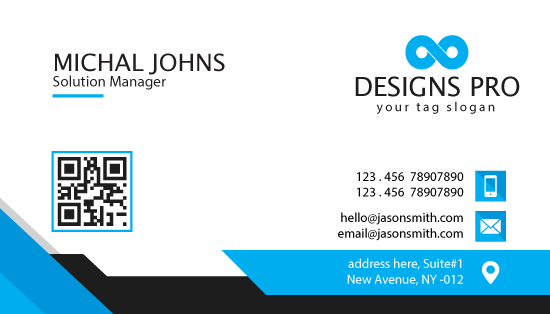 will design a business card for you