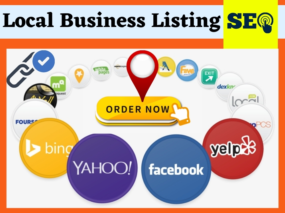 build manually HQ live 100 Local Business Listing or citations for Local SEO