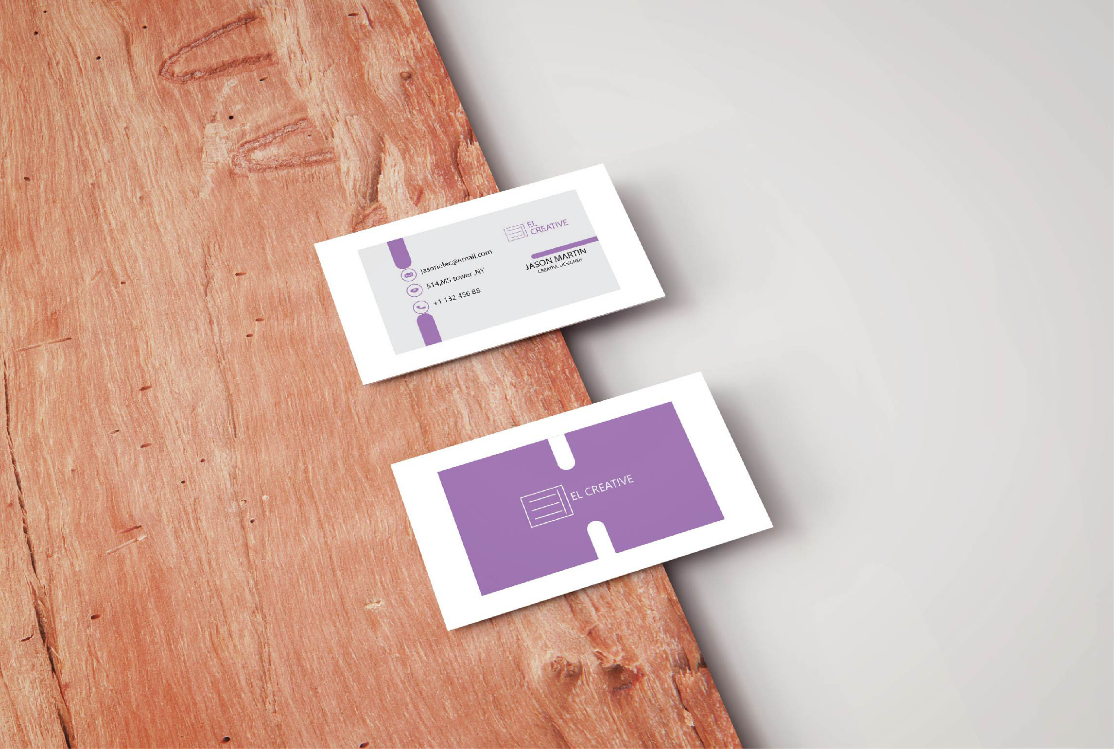 I will create an impactful and unique business card for you within a 12 hour