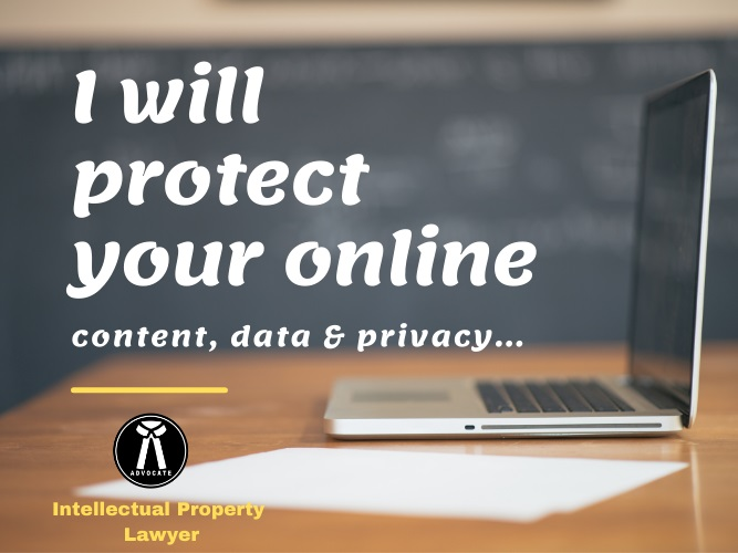 I will protect your online content data & privacy.