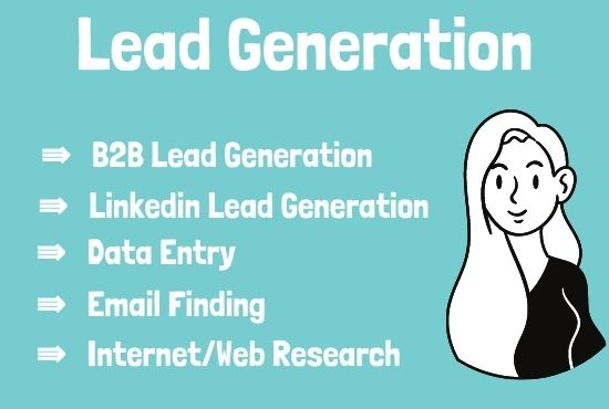 I'll do Lead Generation for your targeted niche