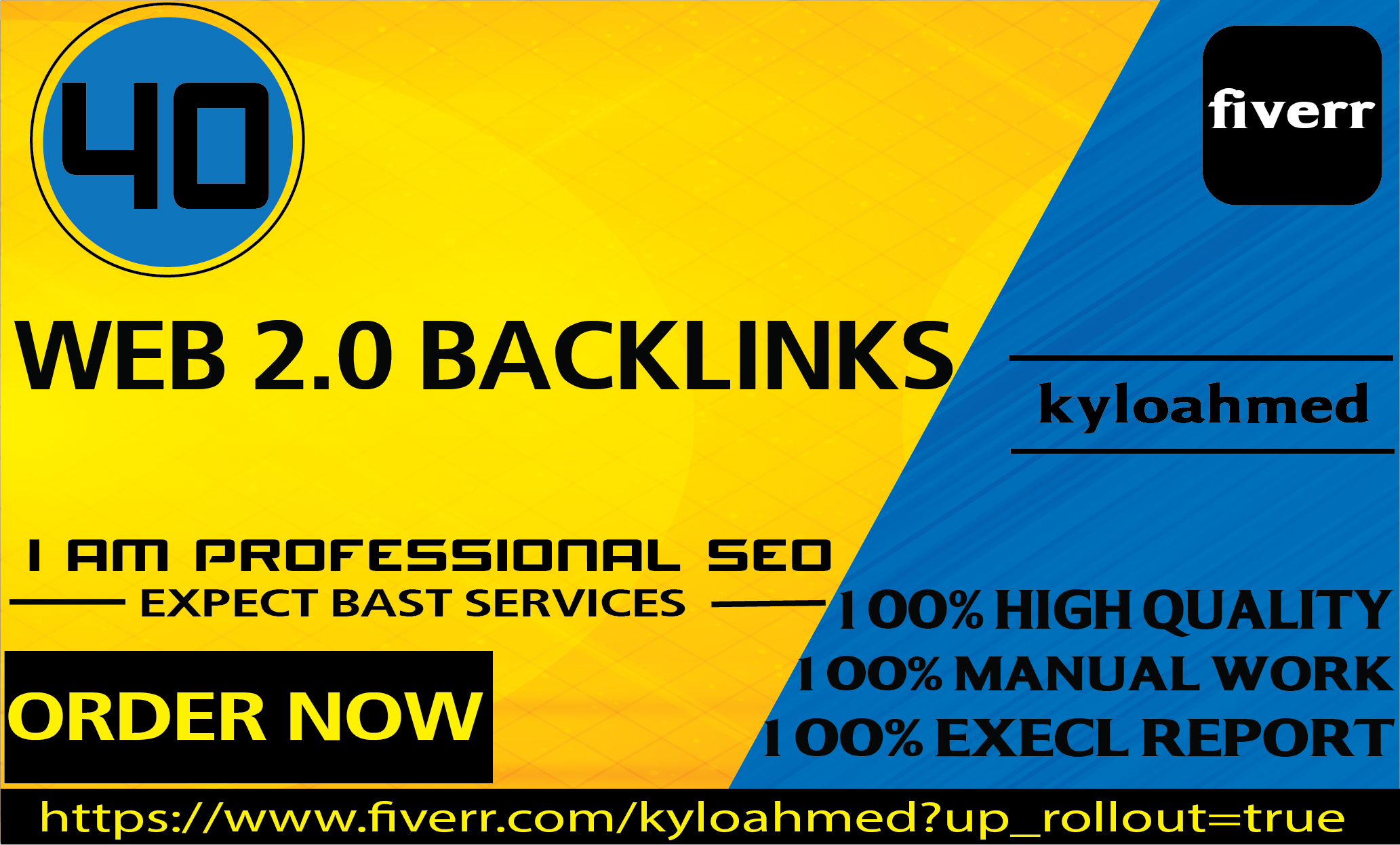 I will build 30 manually web 2 0 backlinks