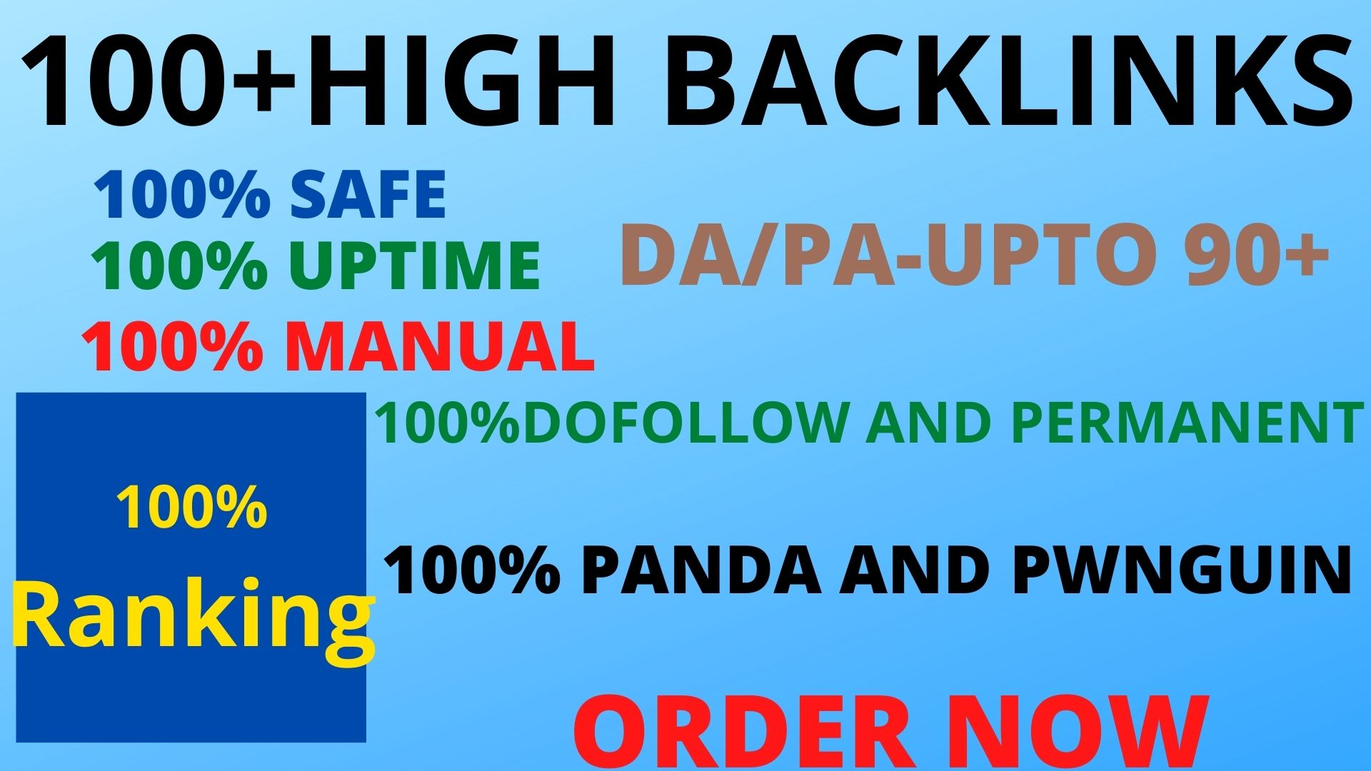 Get powerful 100+ pbn backlinks with high DA/PA on your homepage with unique website. Perfect SEO