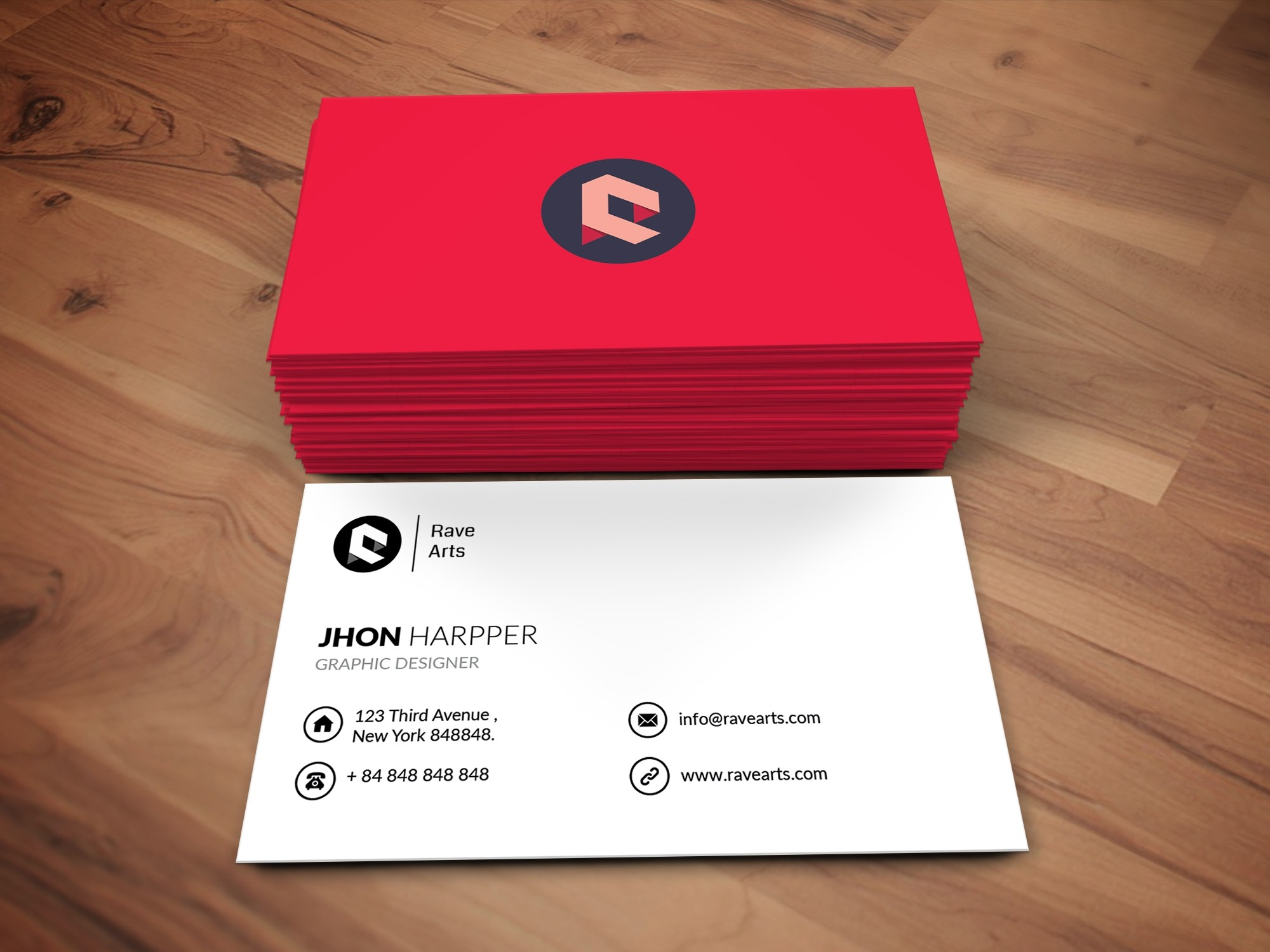I will Create Any Type Of Business Card Minimal, Luxury, Creative, Professional, Modern