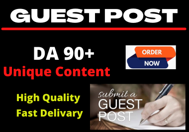 I Will do 10 guest post for you