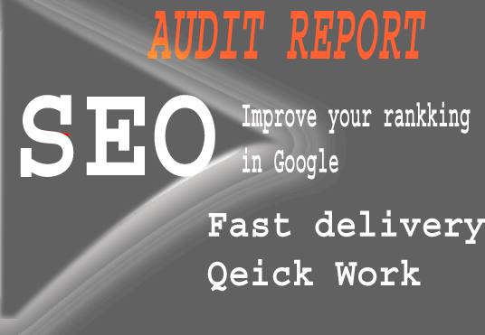 i will analyze and create an in depth killer SEO report to get better ranking in Google