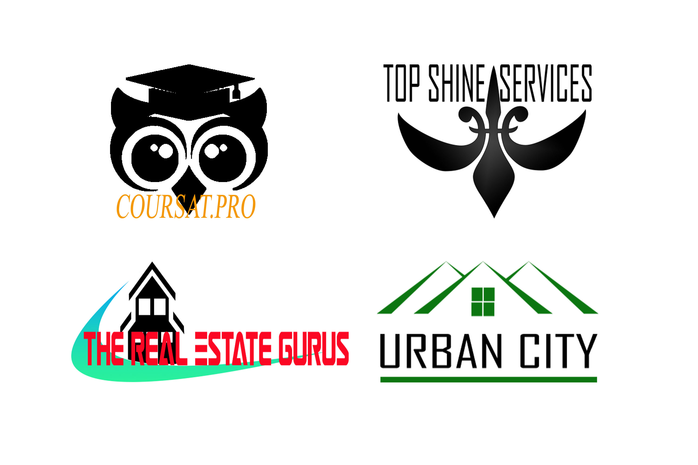 create a unique,  modern,  flat minimalist business logo design