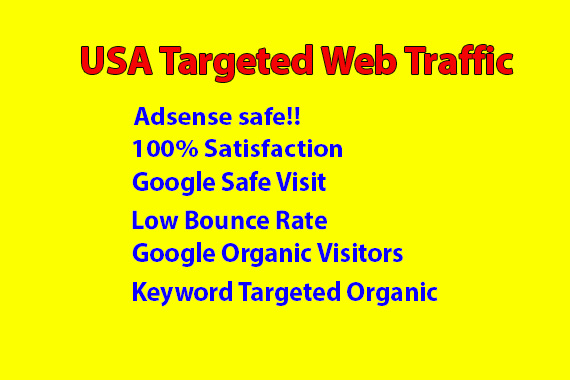 UNLIMITED HUMAN Web TRAFFIC BY Google Twitter YouTube and many more to web site
