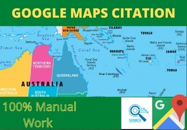 100 Google Maps local Citation for local seo to rank your website in google