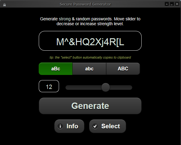 Secured Password Generator With Resale Rights