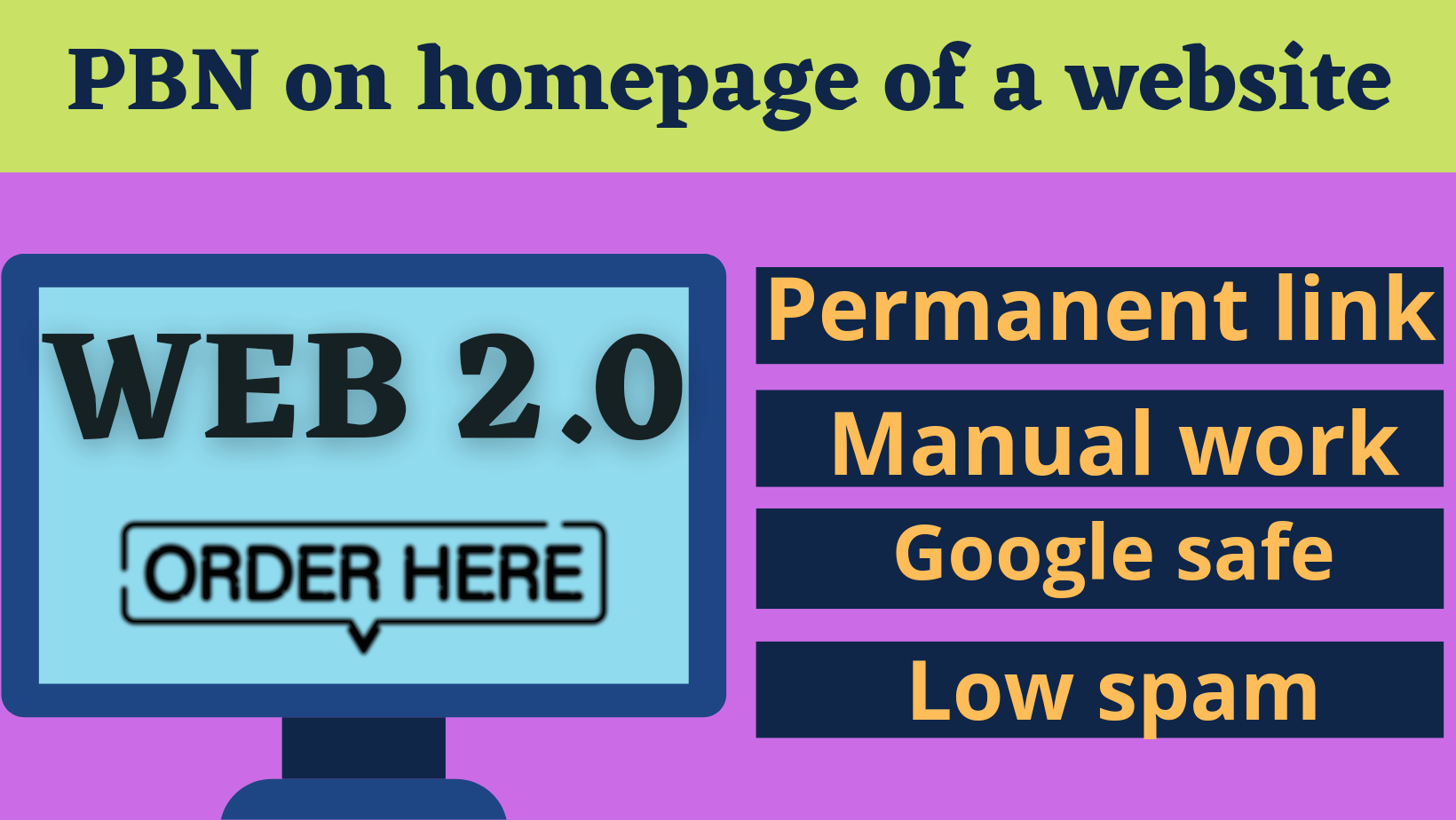 I will create 20 high quality web 2.0 and submit article on home page