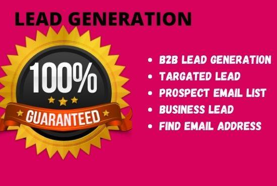 Professional B2B strategic lead generation
