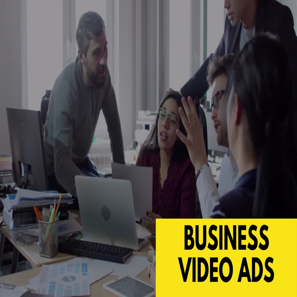 I will create modern and promo video ads for your business