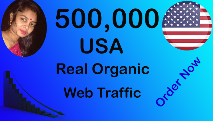 Real and Organic 500,000 USA Website Traffic within 20 Days