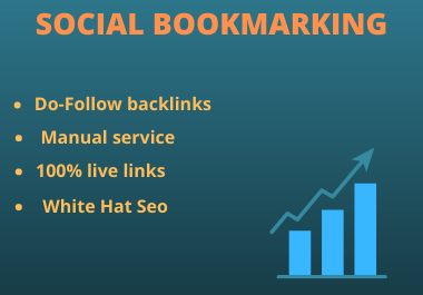 I will create 40 social bookmarking for your website