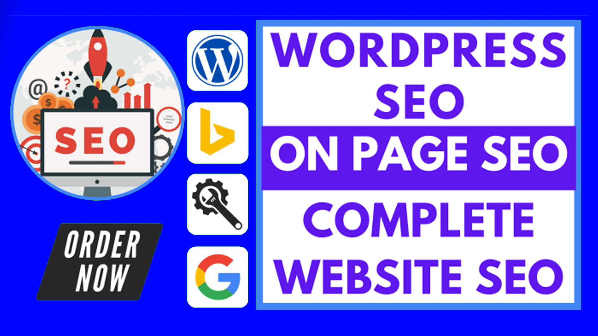 I will do onpage SEO optimization and technical onpage of wordpress website with Rankmath