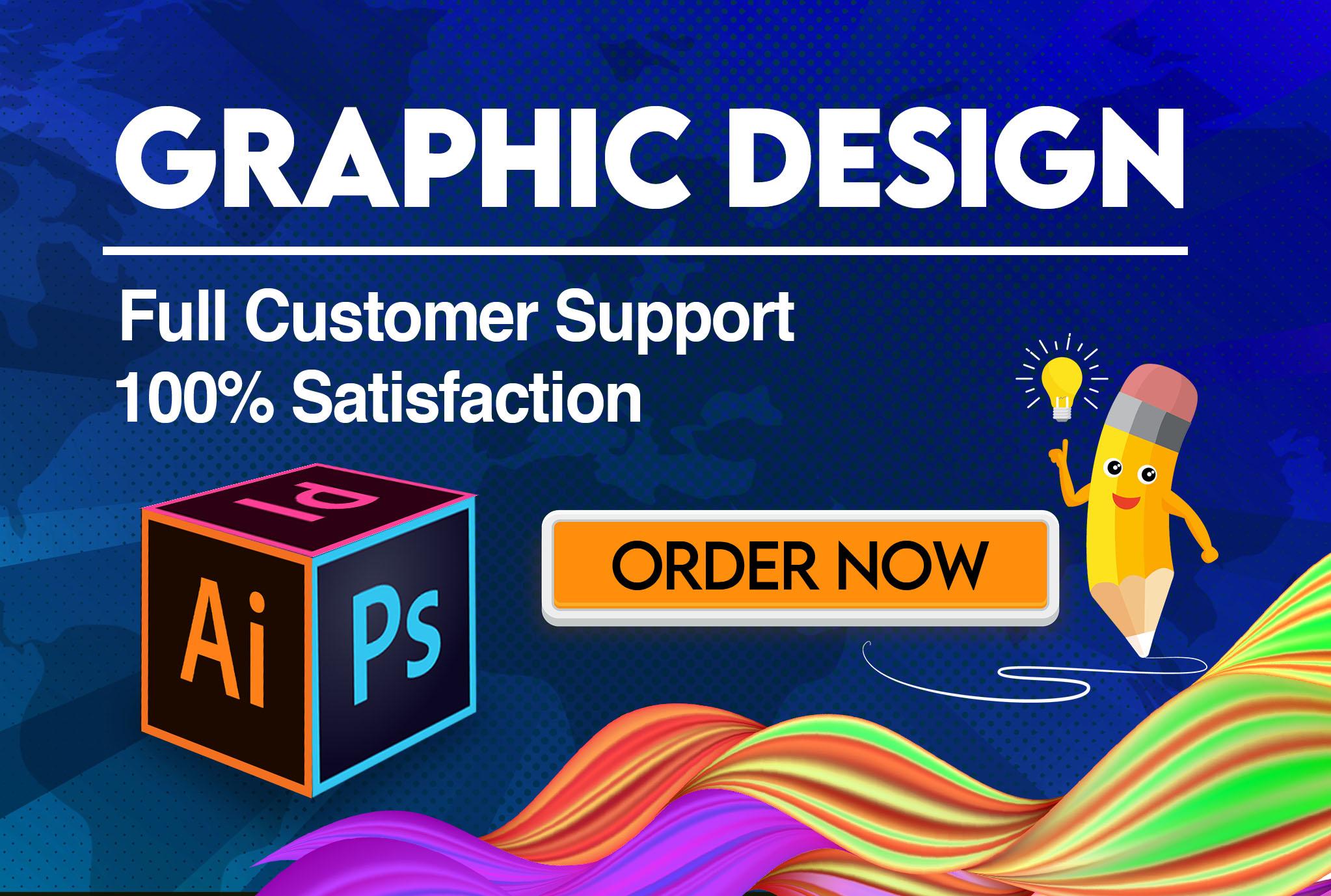 I will your freelance graphic designer