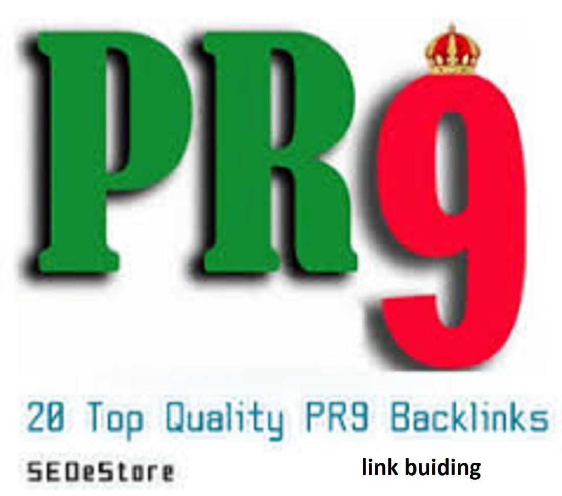 I will create 20 PR9 white hate backlinks put in hand and it's satisfactory backlinks