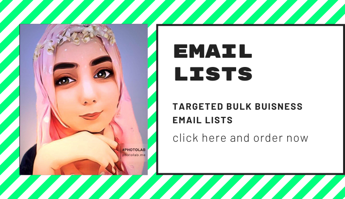 provide targeted bulk email lists for you business