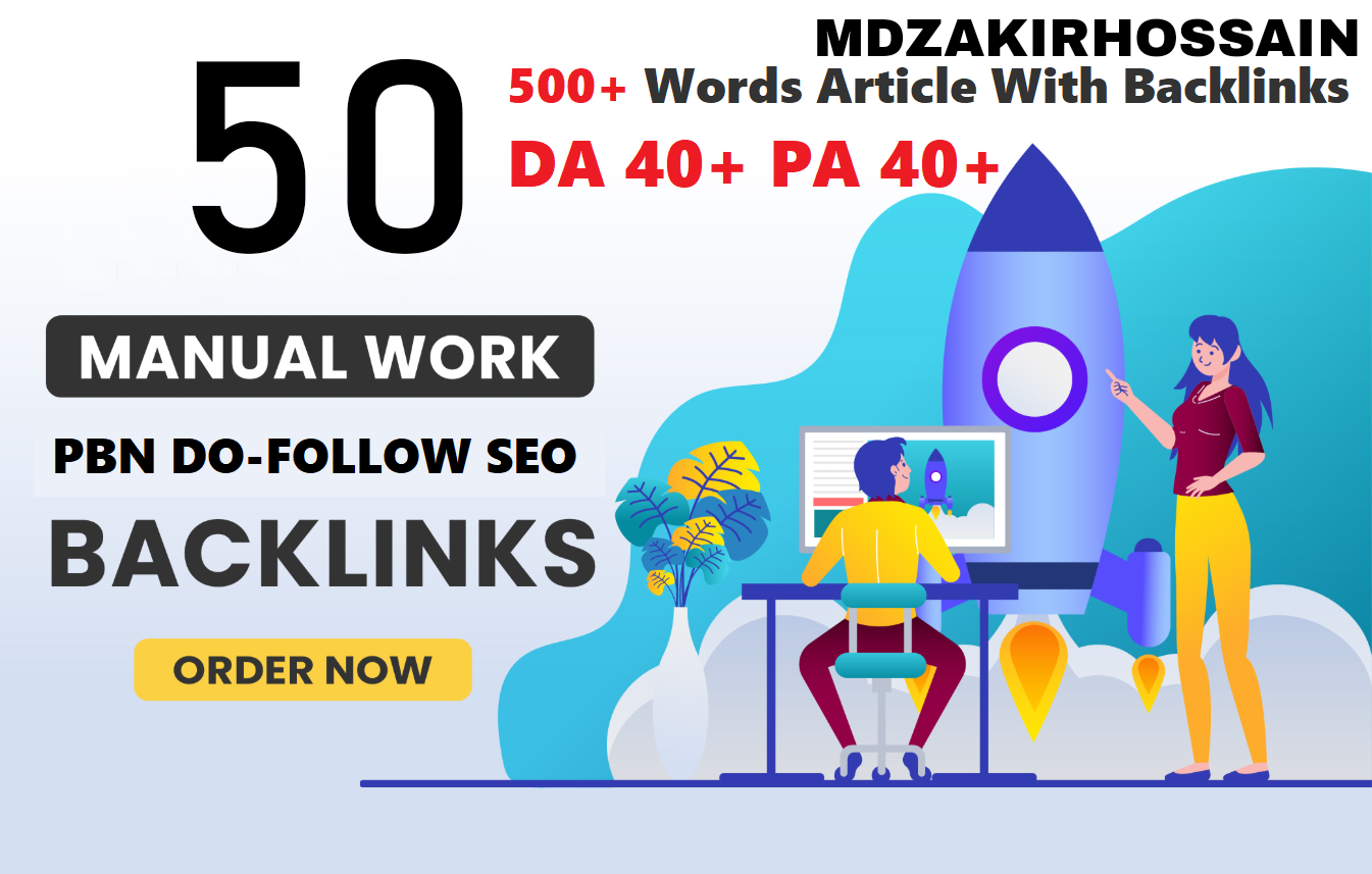 Interesting 50 Sites DA 40+ PA 35+ PR 5+ Web 2.0 50 PBN