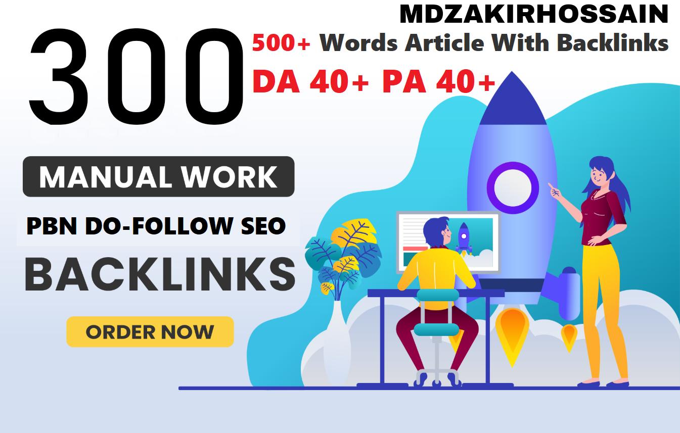 300 Website Home Page WEB2.0 PBNs Post DA 40+ PA 40+