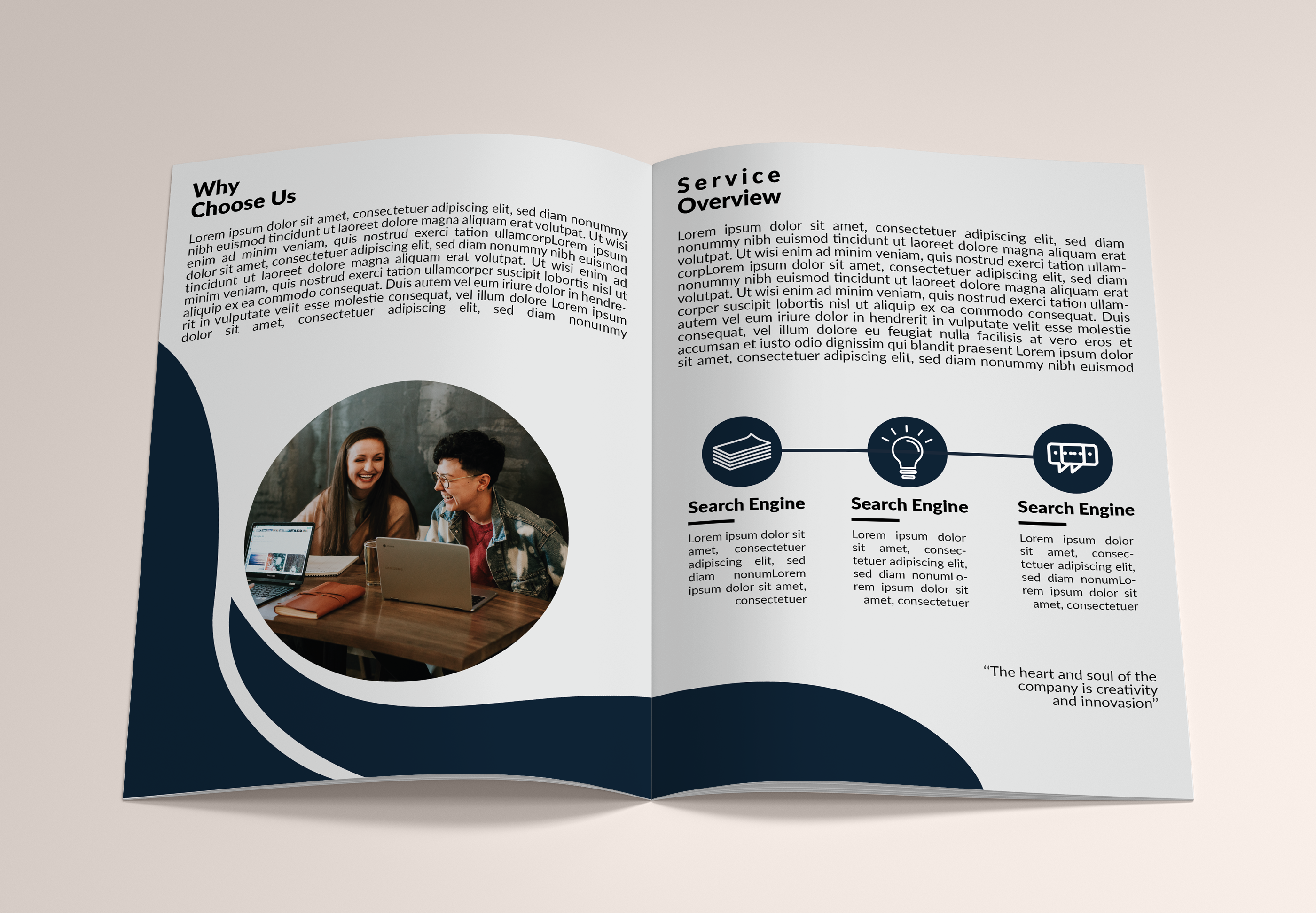 I will design perfect brochure for your business