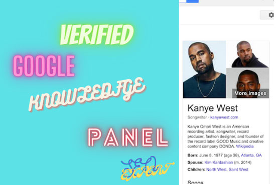 I will create verified google knowledge panel or knowledge graph