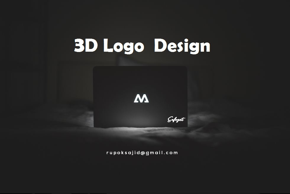I am expert in professional 3d logo design with HQ file