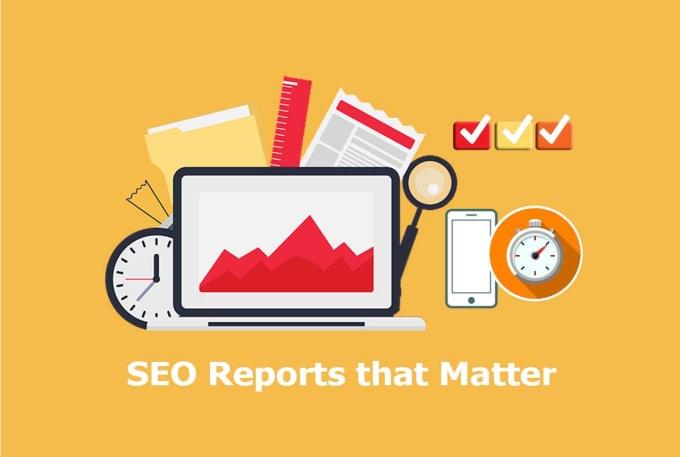 I will make a SEO analysis report