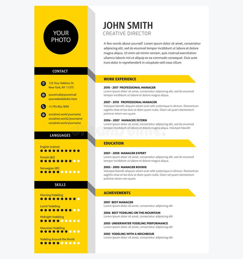 I will Create professional Resume for you