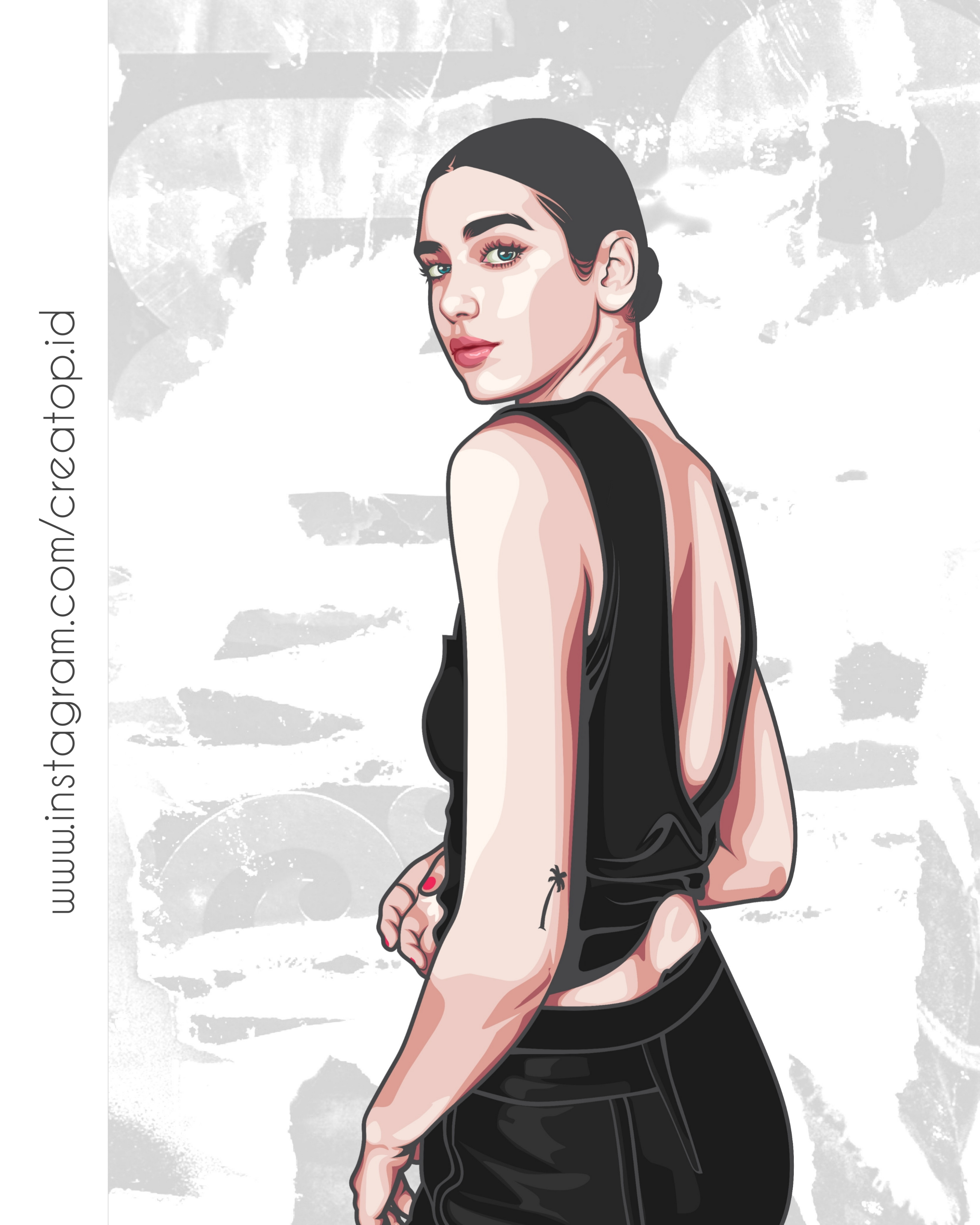 I will draw amazing vector art from your photo