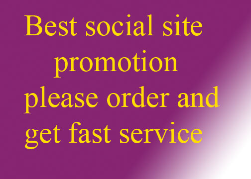 I will do 1000 social promotion and marketing