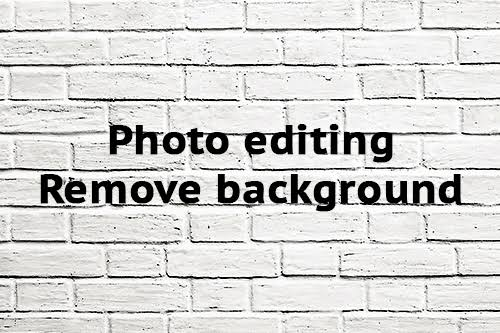 Background removal for 10 images