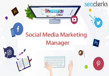 I will be your social media manager for your business