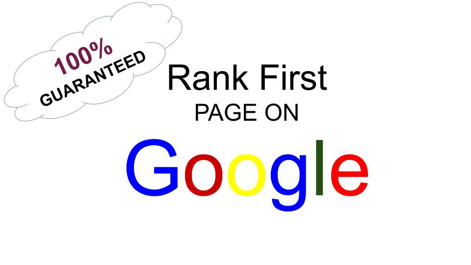 I will make your website guaranteed at first page of google