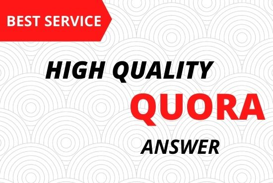 Provide Best 10 Quora answer with backlinks