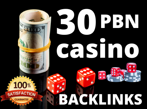 Build 30 PBN Casino,  Poker,  Gambling,  Betting All are Unique Domains PBN Backlinks