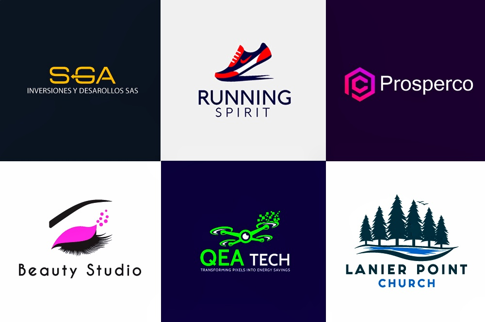 I will do simple and minimal logo design for you