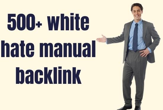 I will do high quality do follow SEO backlinks for google top ranking