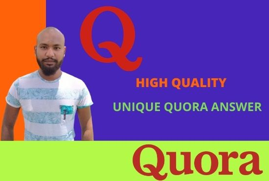 I will give you high position 10 quora answer