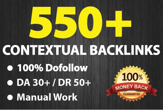I will make 500 high quality contextual seo dofollow backlinks